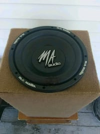 MA audio 10 inch subwoofer plays very well got a b Jacksonville, 72076
