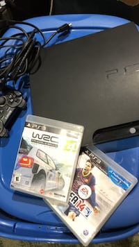 Ps3 With Two Games (In Good Condition) West Vancouver