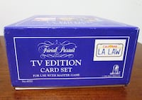 Trivial Pursuit TV EDITION Game Parker Brothers Card Set Fort Mill