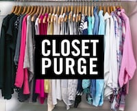 Women's medium closet purge All for $50 Knoxville, 37922
