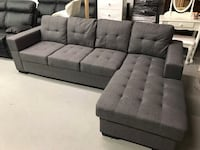 Brand new grey fabric sectional sofa new year sale  多伦多, M1S 4A9