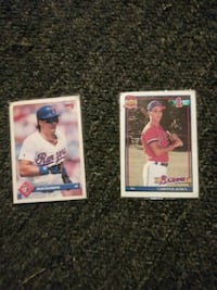 two baseball player trading cards Spartanburg, 29303