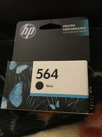 HP black ink cartridge box