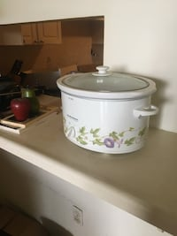white and pink floral slow cooker Mississauga, L4W 4A1