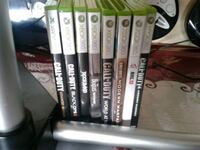 assorted Xbox 360 game cases Montréal, H4B 1R7