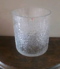 Art glass vase, bowl or ice bucket  Whitchurch-Stouffville, L4A 4S5