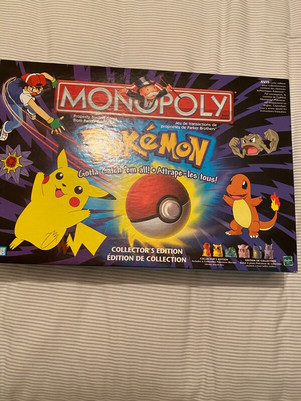 Pokeman Monopoly Board Game  f1c014e2-6ef7-46ce-be30-8d212d670db8