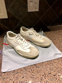 Prada men's sneaker . White size 9 1/2. Authentic
