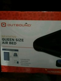 Queen size air bed.  Brand new  Kitchener