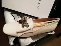 Gucci BumbleBee Loafers Flat size 8 Silver Spring, 20904