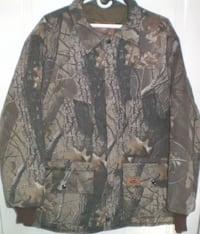 Duxbak Mens Camo Thermal Hunting Jacket 2XL