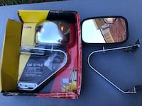 Truck or trailer mirrors