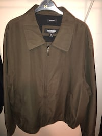 New. Men's XXL dark brown Claiborne microfibre jacket Surrey, V3S 5V4