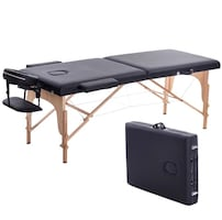 Portable Massage Table Massage bed SPA Bed 2 Fold