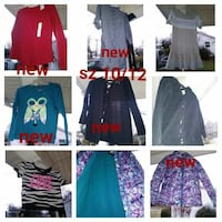 Girl clothes sz 10/12 different prices