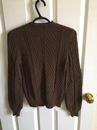 women's brown cardigan 1 km