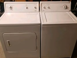 Matching Kenmore Top Load Washer (3.4 cu.ft) and Electric Dryer (6.0