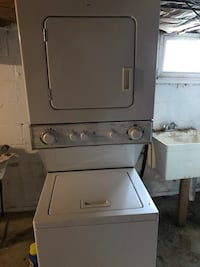 GE stackable washer and dryer  Falls Church, 22042