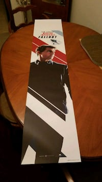 5 foot Tom Cruise Mission Impossible poster Arlington Heights, 60004