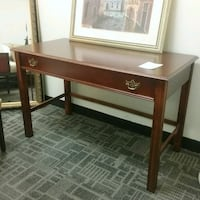 "Cherry  laminate top desk W48"" D24"" H30"" Oakville, L6L 5N1"