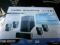 black-and-gray Darby Acoustics multimedia speaker box Wills Point, 75169
