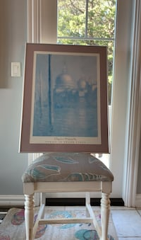 Monet print in frame