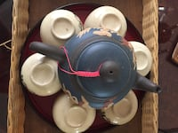 Clay pot tea set Rancho Mirage, 92270