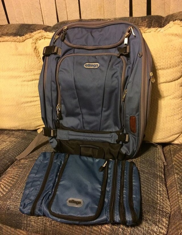 Used Ebags TLS Mother Lode Weekender Convertible Bag w Pack-it-Flat  Toiletry Kit set for sale in Bluefield - letgo 2d60b0c75f2b9