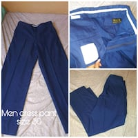 blue and white Adidas track pants El Paso, 79915