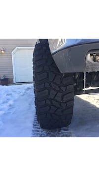 Cooper stt pros 315/75r16 on fuel revolvers 16x8.5. 6 lug with  90 percent tread left. 2000 obo.  Georgetown, 19947