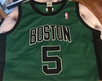 Boston Celtics BIG TICKET KEVIN GARNETT AUTHENTIC JERSEY men's size 52 which is equivalent to a men's Xl never worn new Medford, 02155