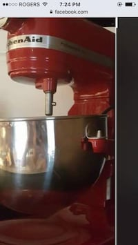 Red and silver kitchen aid stand mixer screenshot