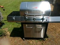 stainless steel and black gas grill Hanceville, 35077
