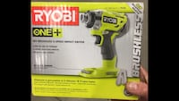 Ryobi 18v Brushless 3-speed Impact Driver Los Angeles, 91352