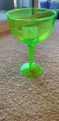 large margarita glass ( plastic) 41 km