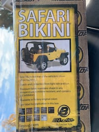 2010-2013 (?) Bikini Topper Jeep Wrangler Unlimited