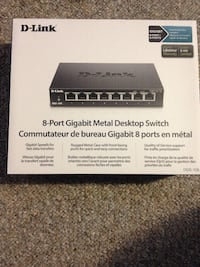 D-Link 8-Port Gigabit Switch