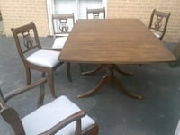 Beautiful Antique Duncan Phyfe Table and 5 Chairs  Mississauga, L5J 2E5