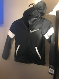 6T black nike zip up