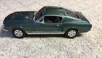 1967 Ford Mustang  GTA 1/18 Scale Model Latham, 12110