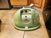 green and gray canister vacuum cleaner Spokane, 99205