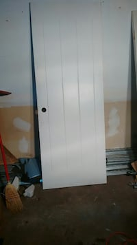 white wooden door panel