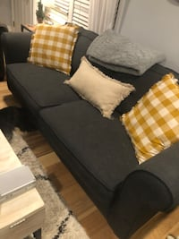Navy couch Warwick