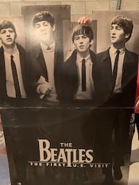Beatles Giant stand Up Poster Brookfield