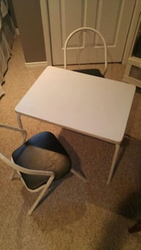 white wooden table with chair Kitchener, N2B 2J5