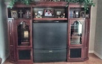 50 inch projection TV $25. Entertainment Center $400 McKinney, 75070