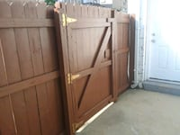 brown wooden framed glass door 32 mi