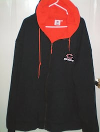 Chicago Bears Full Zip Winter Thermal Hoodie Size XXL/3XL NWT