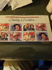 Country and Western postage stamp