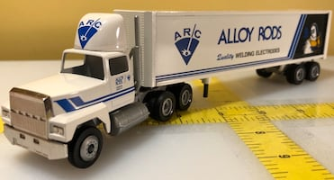 Alloy Rods Welding Electrodes Hanover, PA '90 50yrs Winross Truck